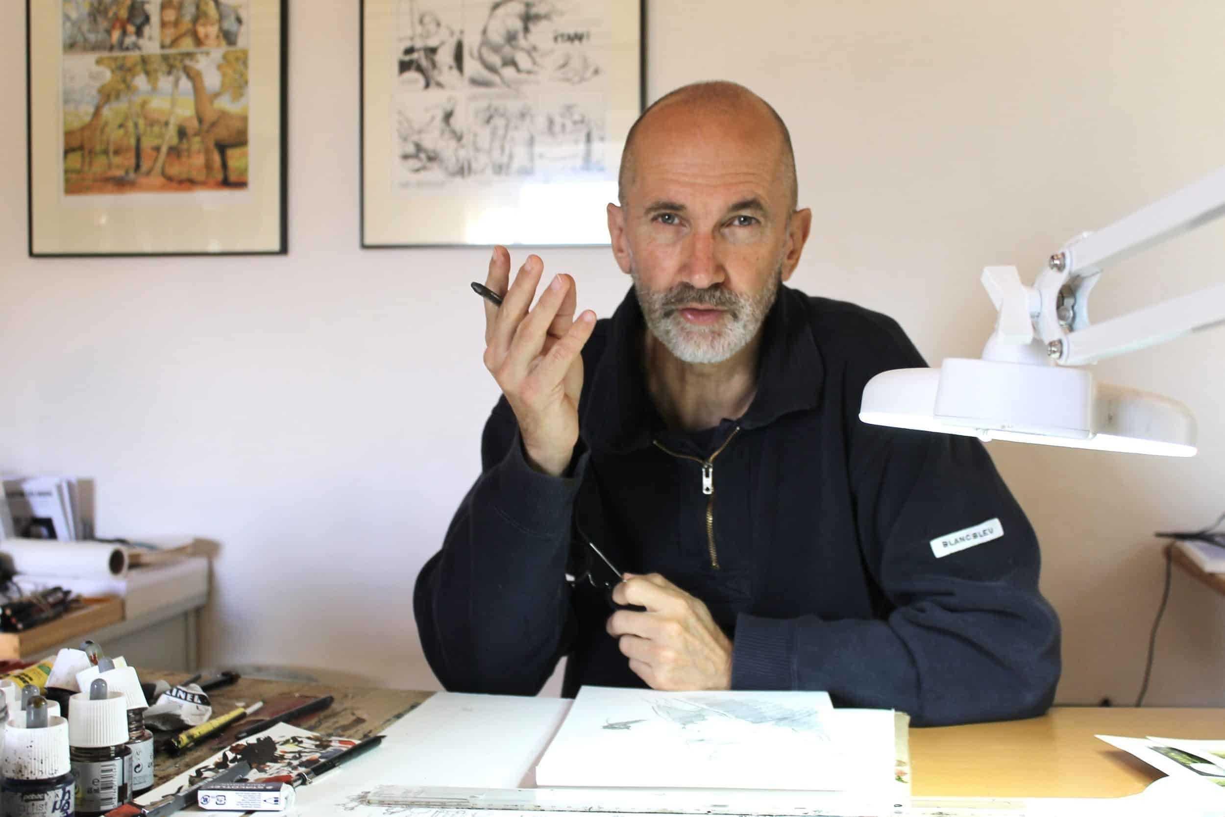 Interview : Jacques Terpant, de Jean Raspail à Nez de Cuir ou Giono avant l'Indochine