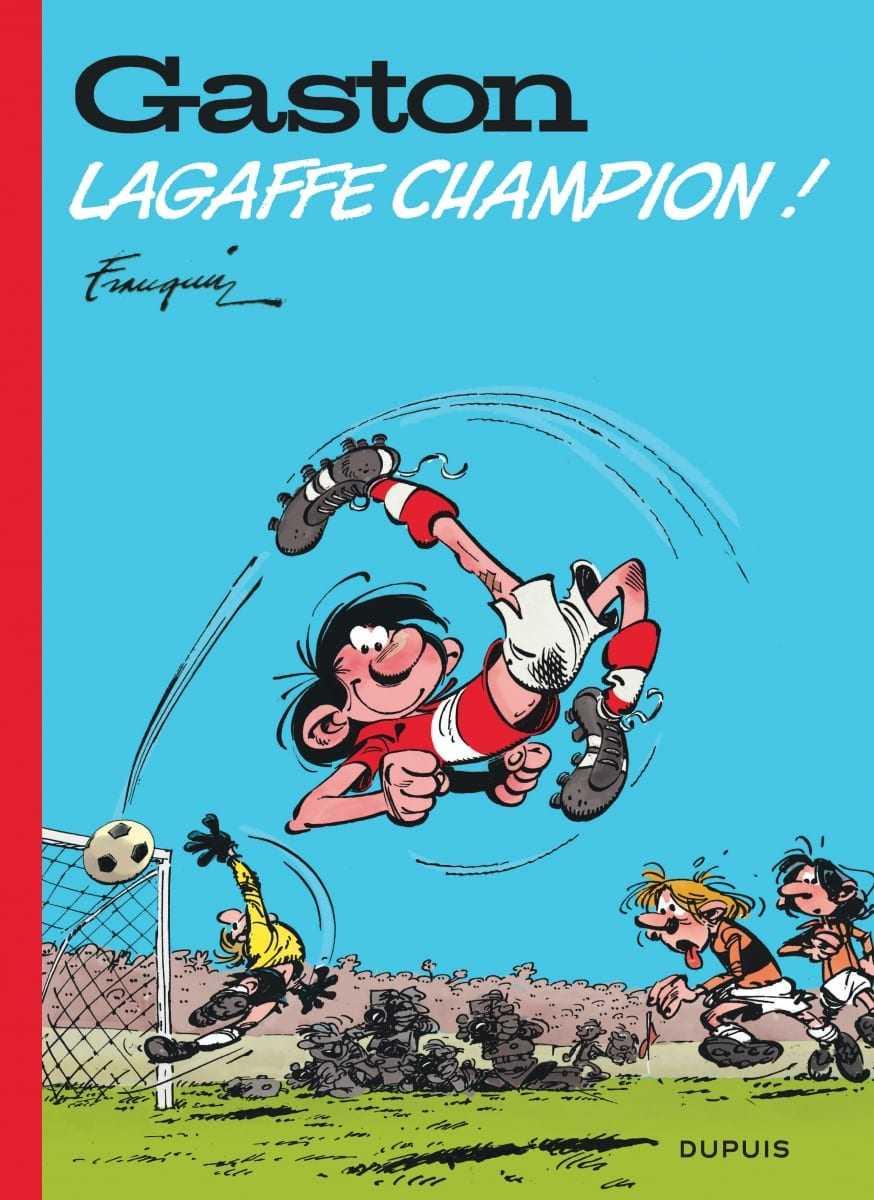 Gaston Lagaffe champion, athlète complet ?