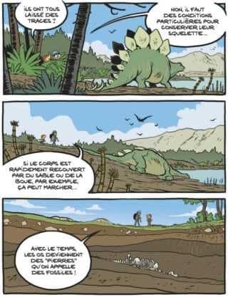La découverte des dinosaures