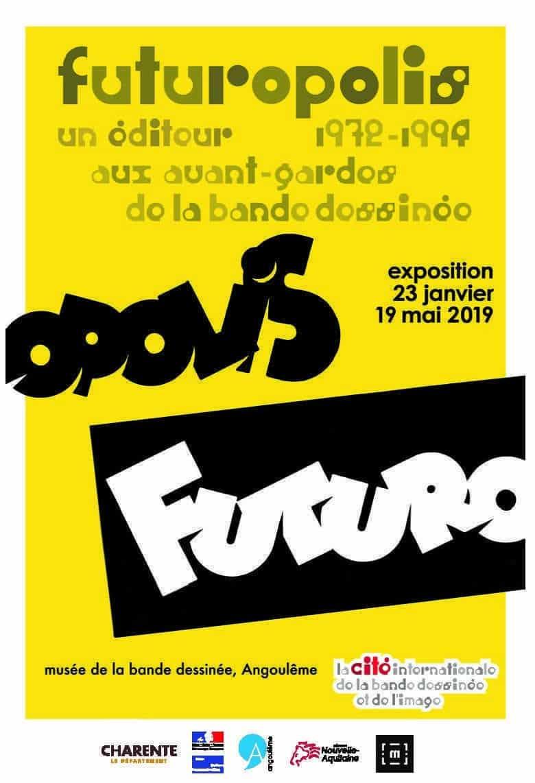 Exposition Futuropolis au Festival d'Angoulême, une belle aventure