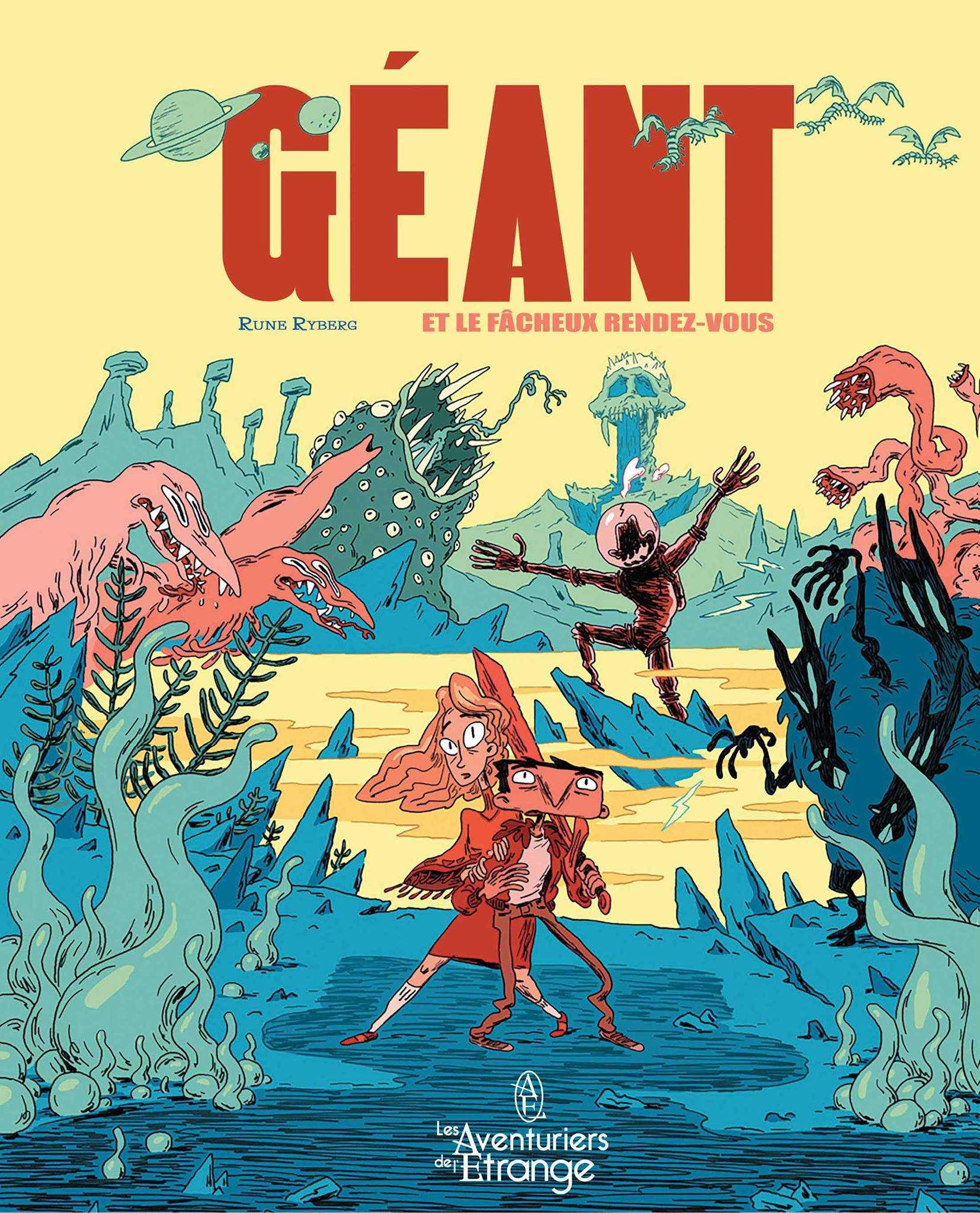 Géant, une première de Rune Ryberg à Angoulême les 25 et 26 janvier