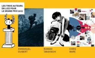 Grand Prix d'Angoulême 2019, le trio de tête