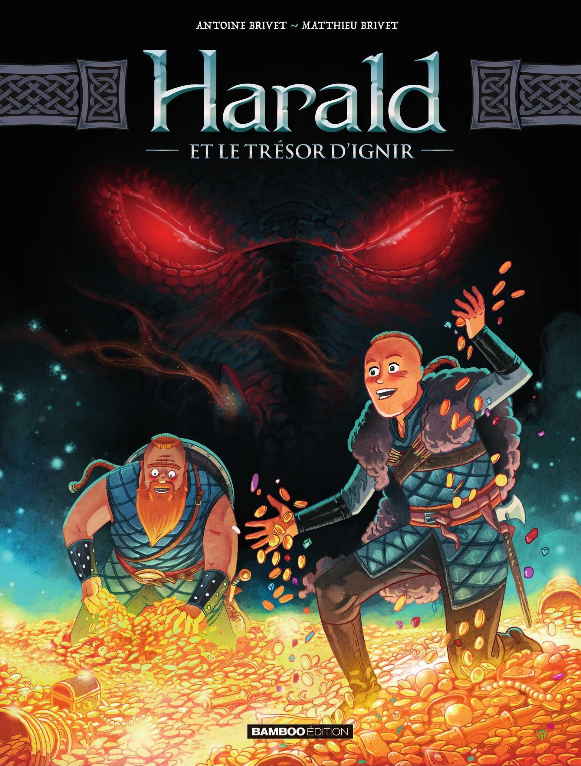 Harald et le trésor d'Ignir, un dragon malin de feu et d'or