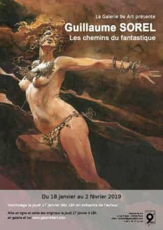 Guillaume Sorel chez 9e Art à Paris dès le 17 janvier avec Les Chemins du fantastique