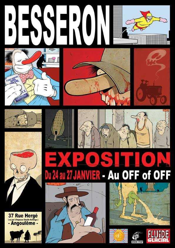 Olivier Besseron à Angoulême pour une expo