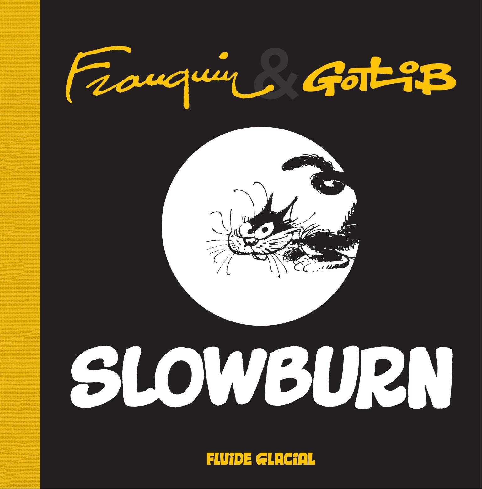 Slowburn, duo de chat à la Franquin-Gotlib