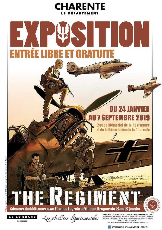 Angoulême 2019 : The Regiment s'expose au Mémoriel de la Résistance