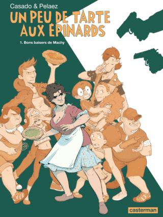 Un Peu de tarte aux épinards