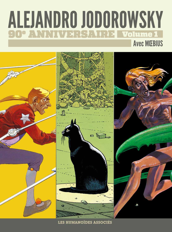 Alejandro Jodorowsky 90 ans et une collection de douze volumes aux Humanos