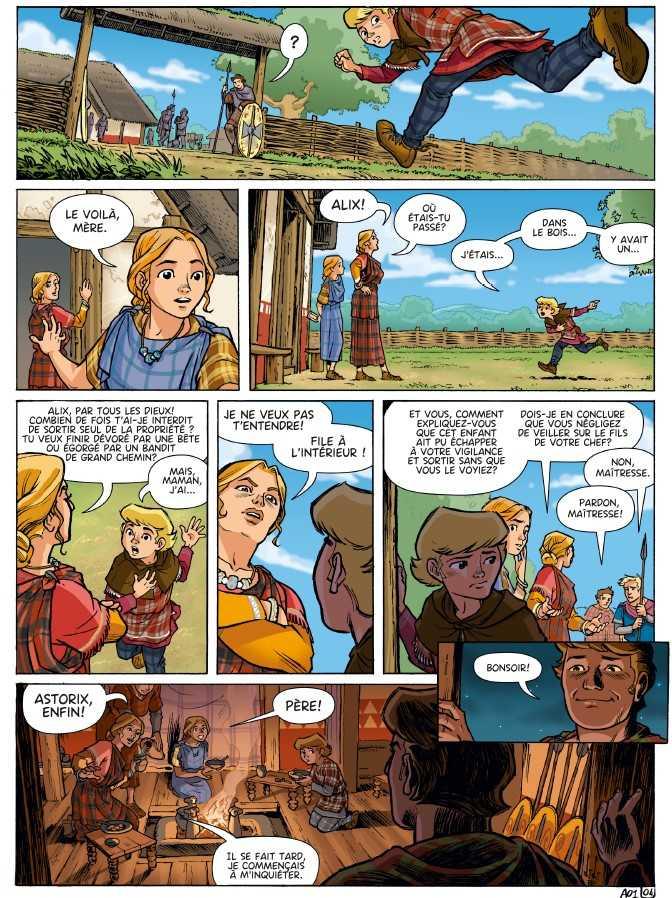 L'enfance d'un Gaulois