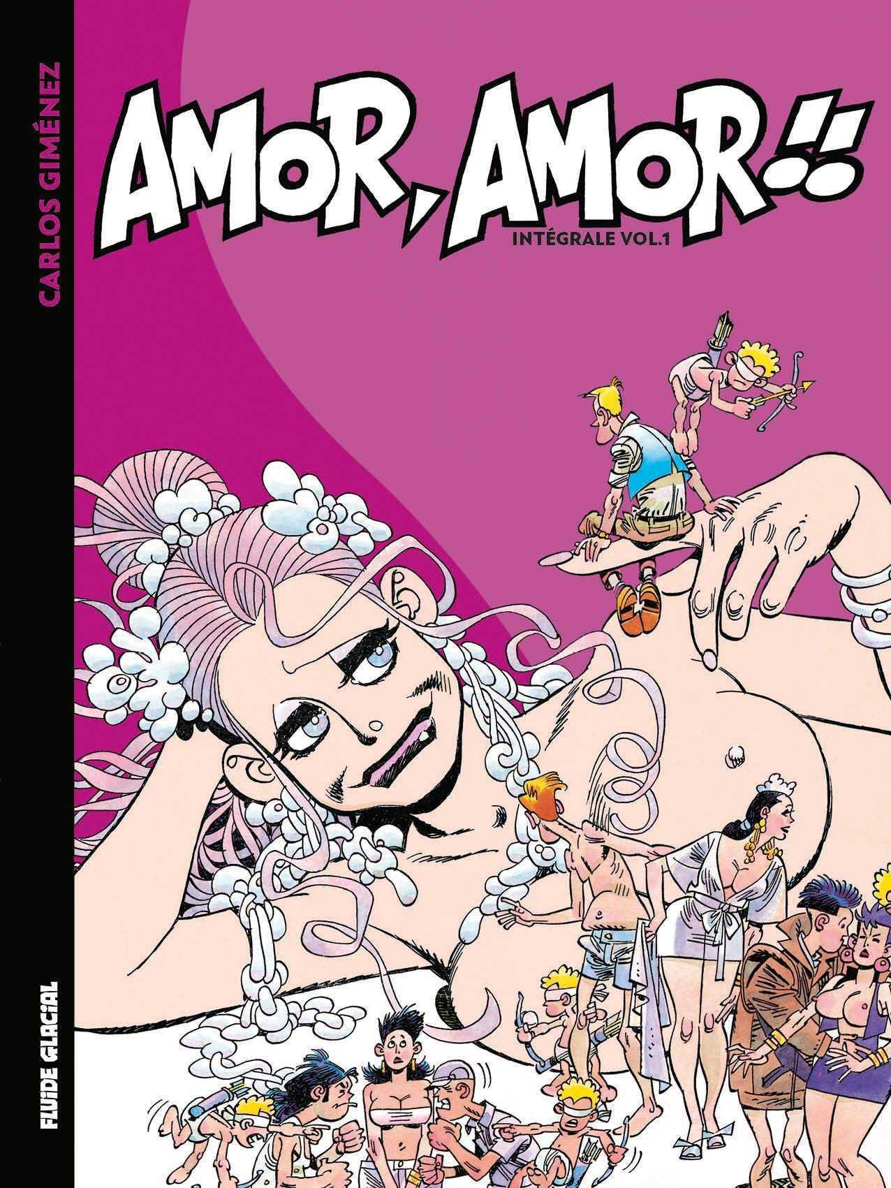 Amor, Amor, l'intégrale de Carlos Giménez