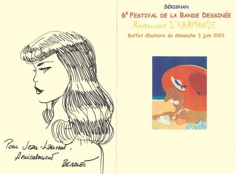 Dédicace de Philippe Berthet