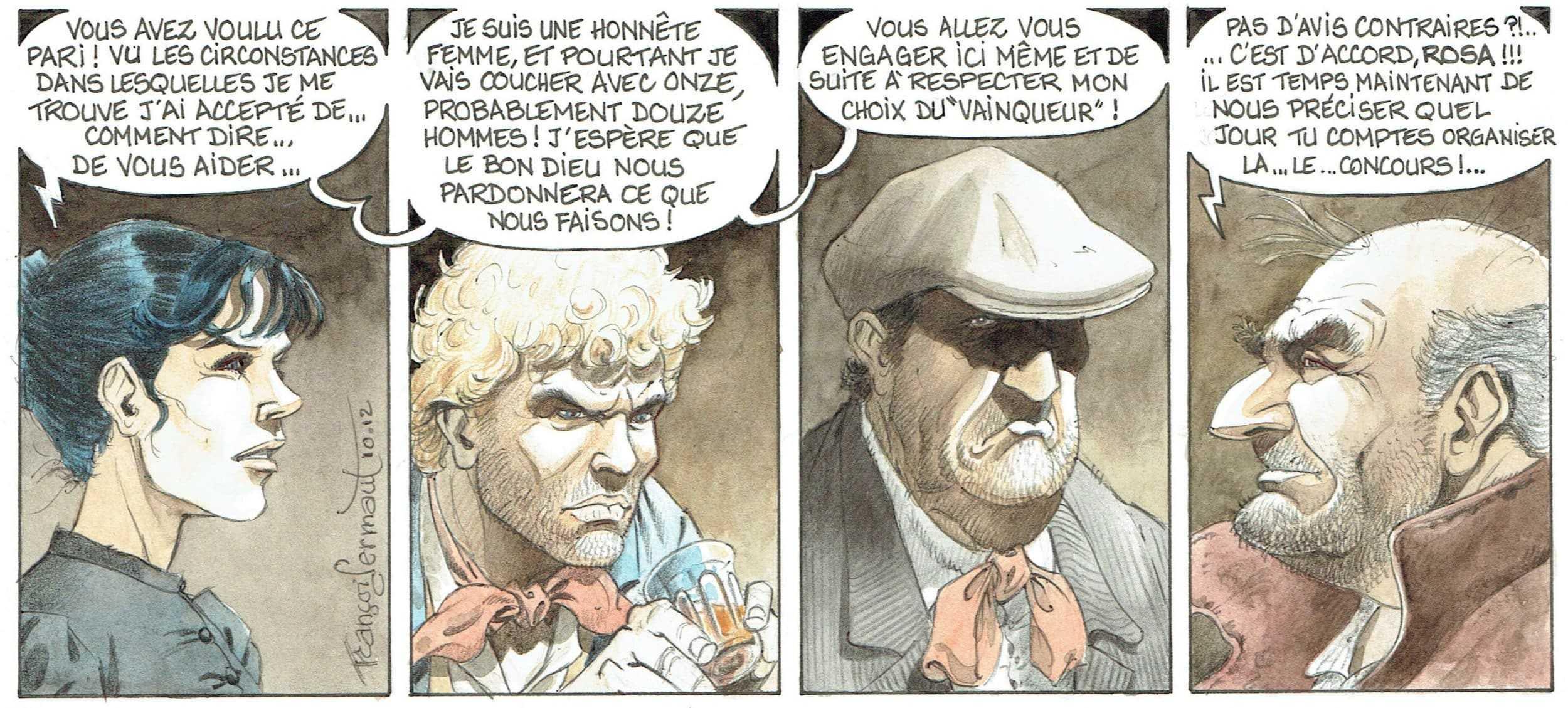 François Dermaut pour une expo-vente chez Comic Art Factory dès le 1er mars à Bruxelles