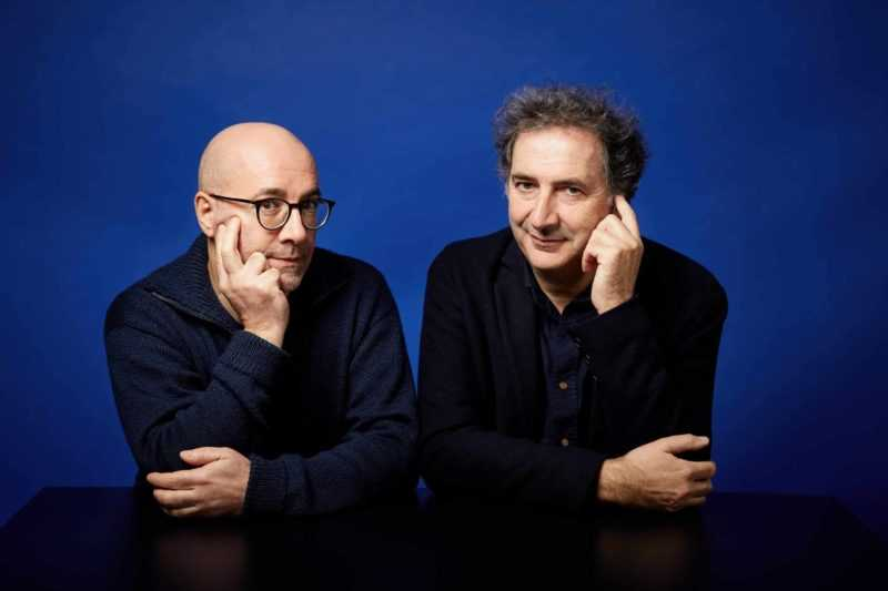 Pascal Rabaté et François Morel
