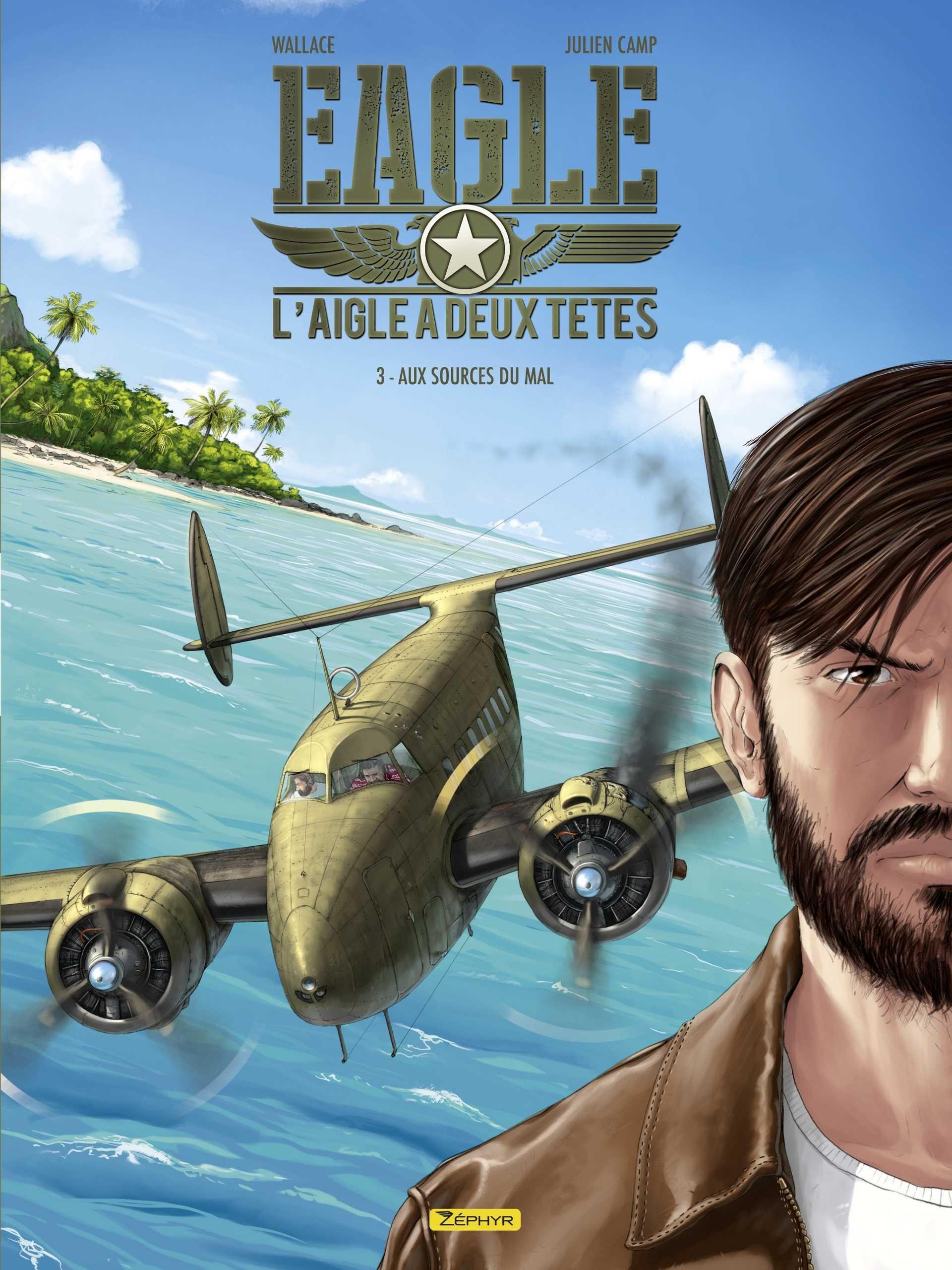 Eagle-Adler, série d'aviation pour des pilotes devenus jumeaux malgré eux