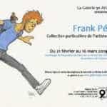 Frank Pé expose sa collection privée à la galerie du 9e Art à Paris