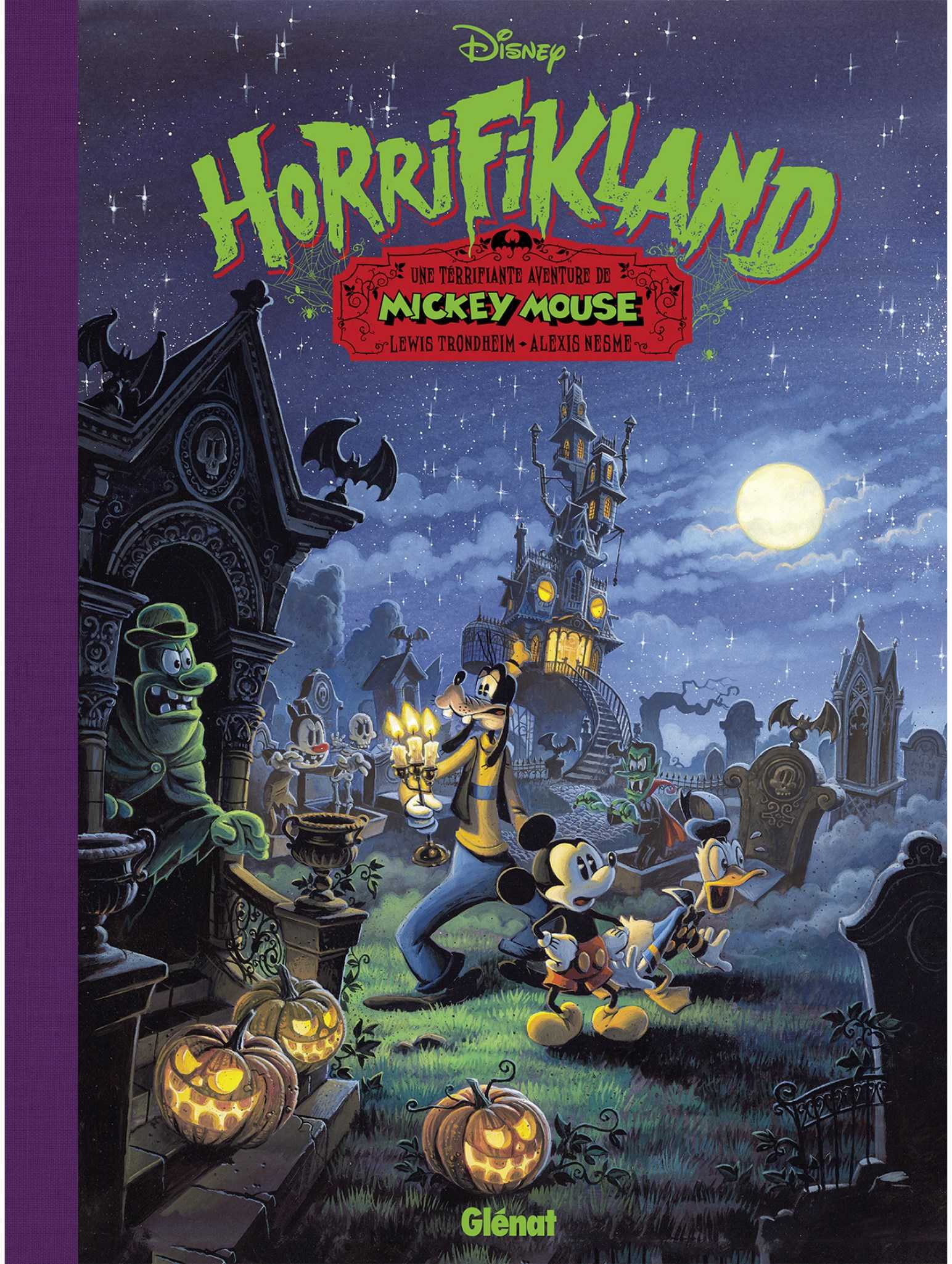 Mickey Mouse Horrifikland, frissons piquants