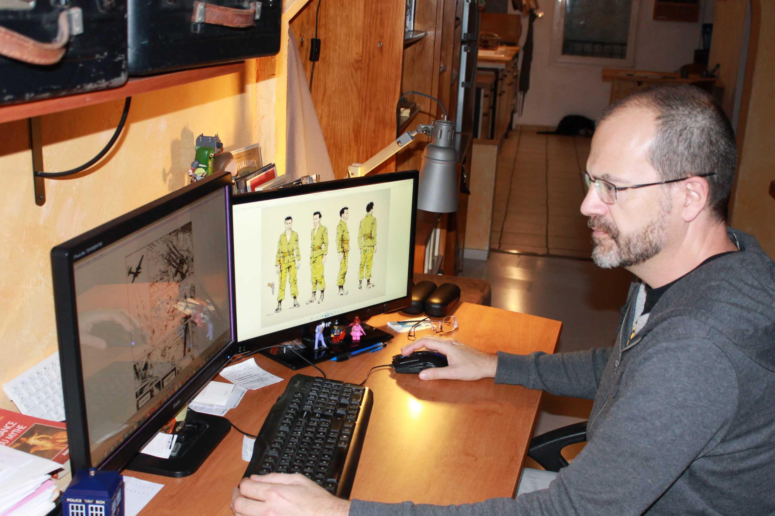 Interview : Dobbs part sur les traces de Monsieur X, nouvelle collection Comix Buro