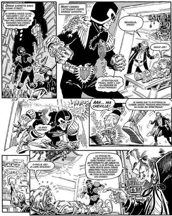 Judge Dredd, Les affaires classées