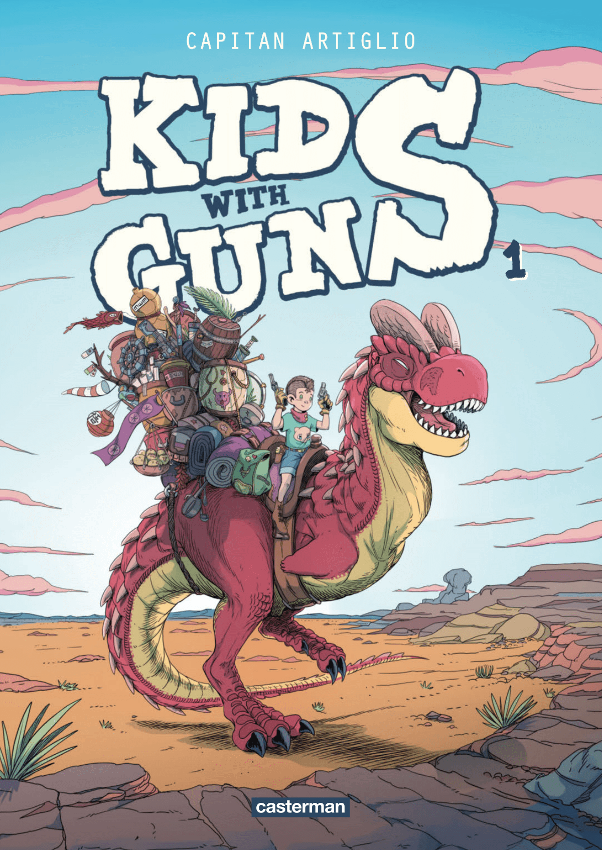 Kids with guns, une gamine reine du Colt
