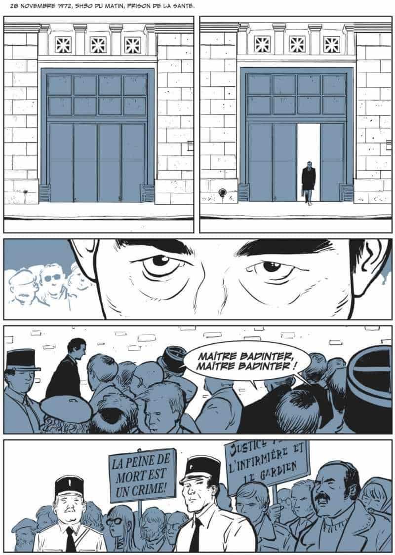 Le combat de Robert Badinter