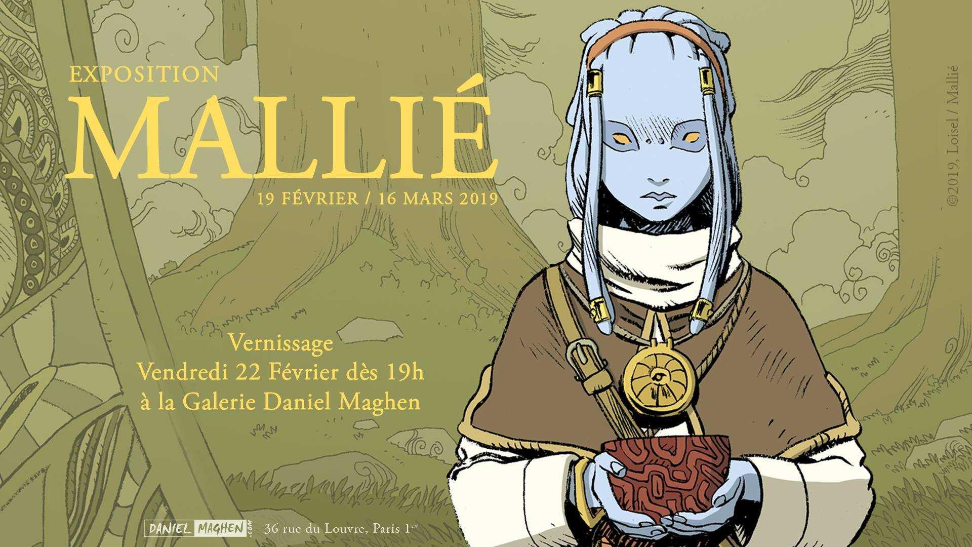 Vincent Mallié pour Le Grand Mort chez Maghen avec une rétrospective dès le 19 février 2019