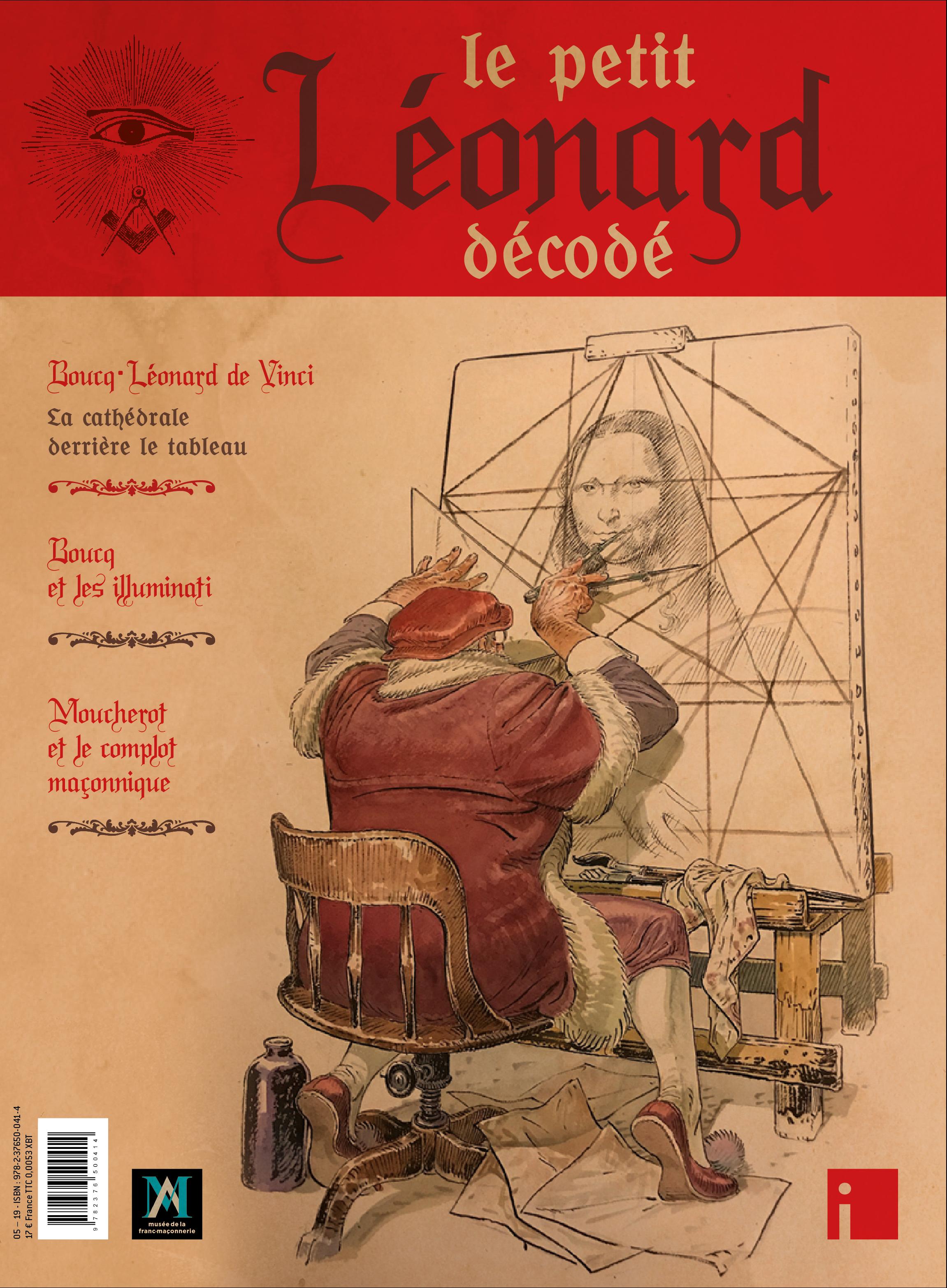 Le Petit Léonard décodé, Boucq dit tout de Vinci
