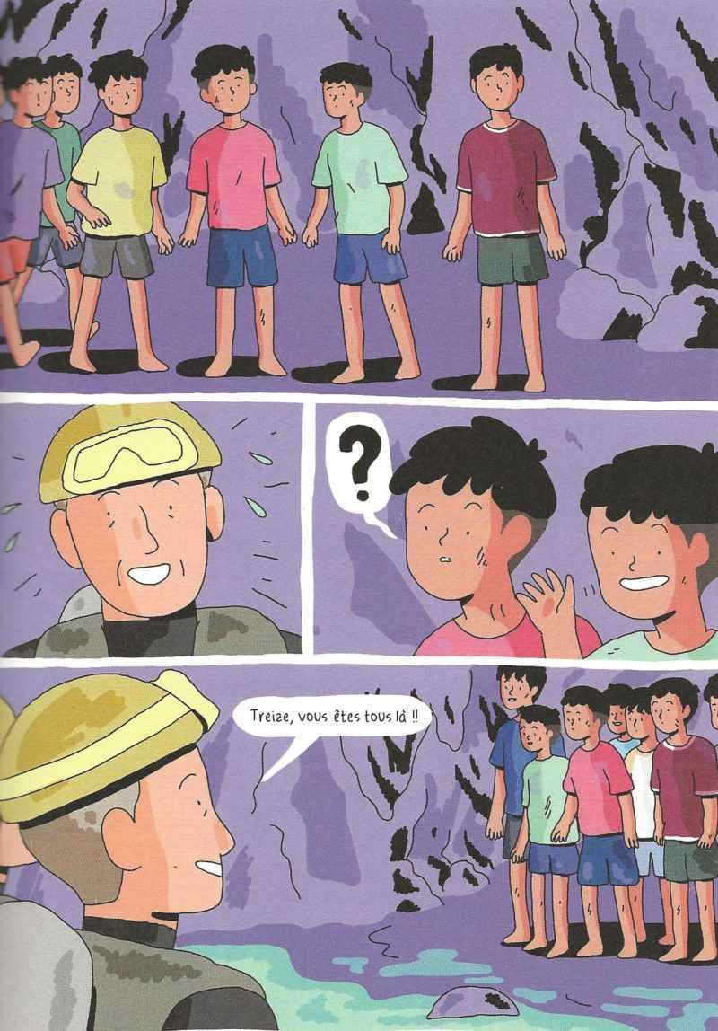L'incroyable aventure des enfants de la grotte