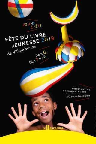 Fête du Livre Jeunesse 2019 de Villeurbanne