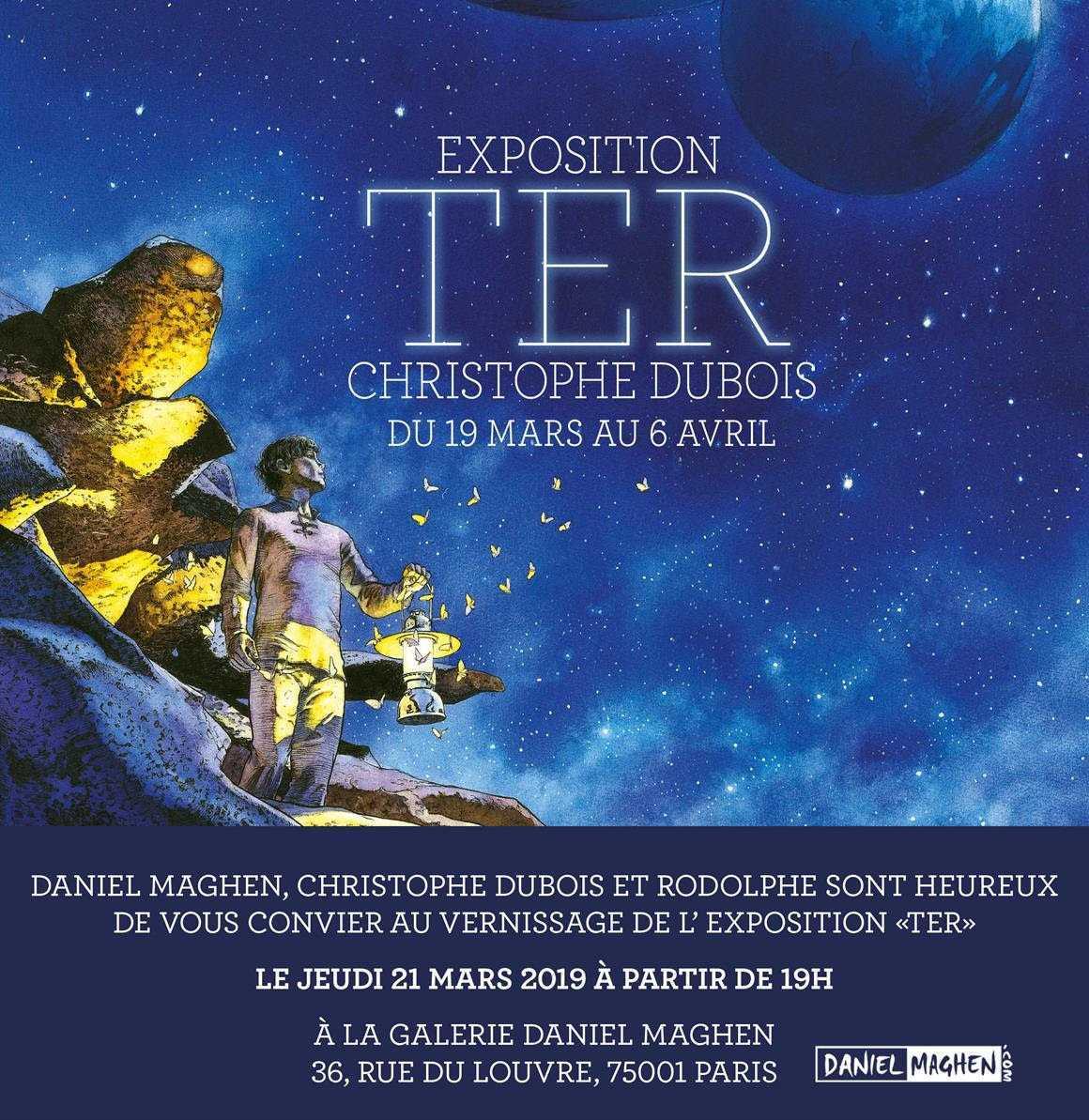 Pour TER 3, Christophe Dubois s'expose chez Maghen jusqu'au 6 avril 2019