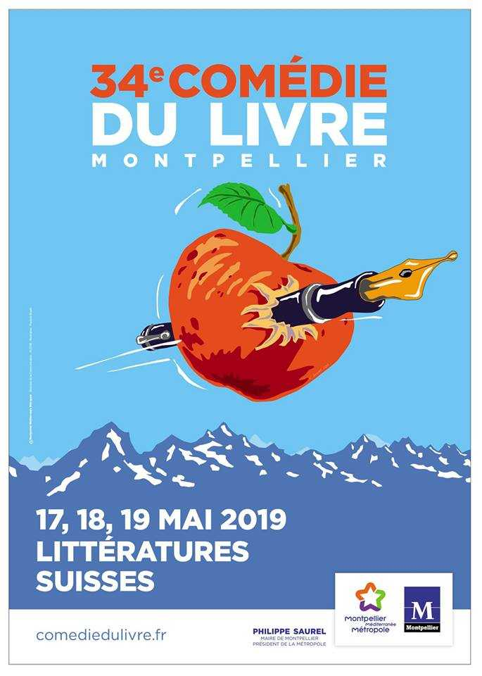 Comédie du Livre les 17, 18 et 19 mai 2019, des auteurs BD et des rencontres à Montpellier
