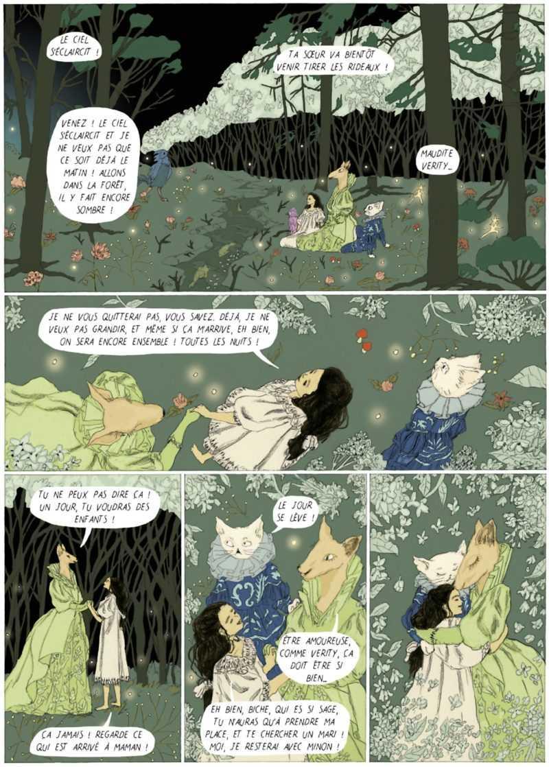 Dans la Forêt des lilas
