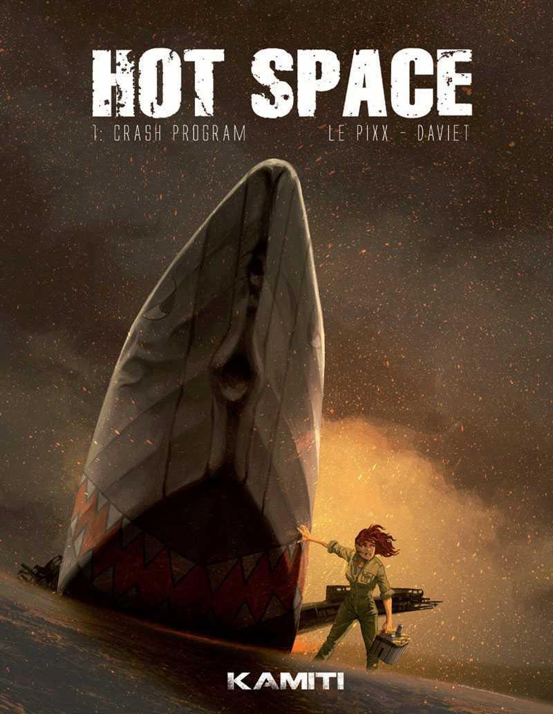 Hot Space, la pilote prise au piège