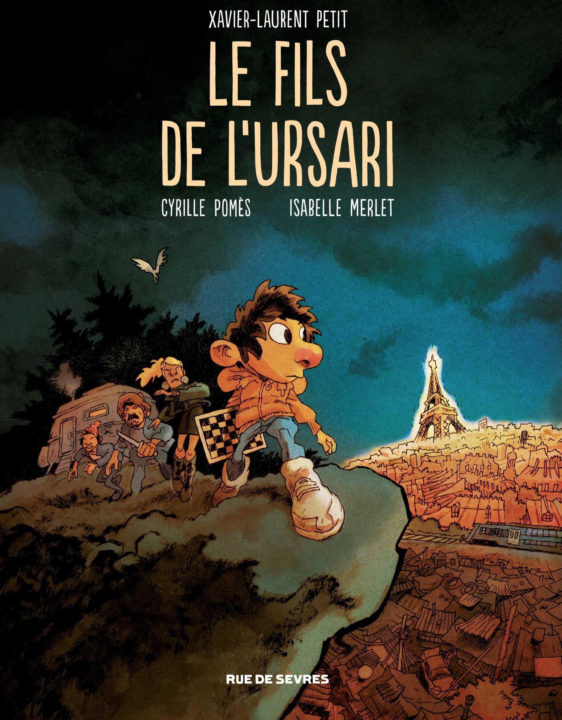Prix Jeunesse ACBD 2019 pour Le Fils de l'Ursari de Xavier-Laurent Petit et Cyrille Pomès