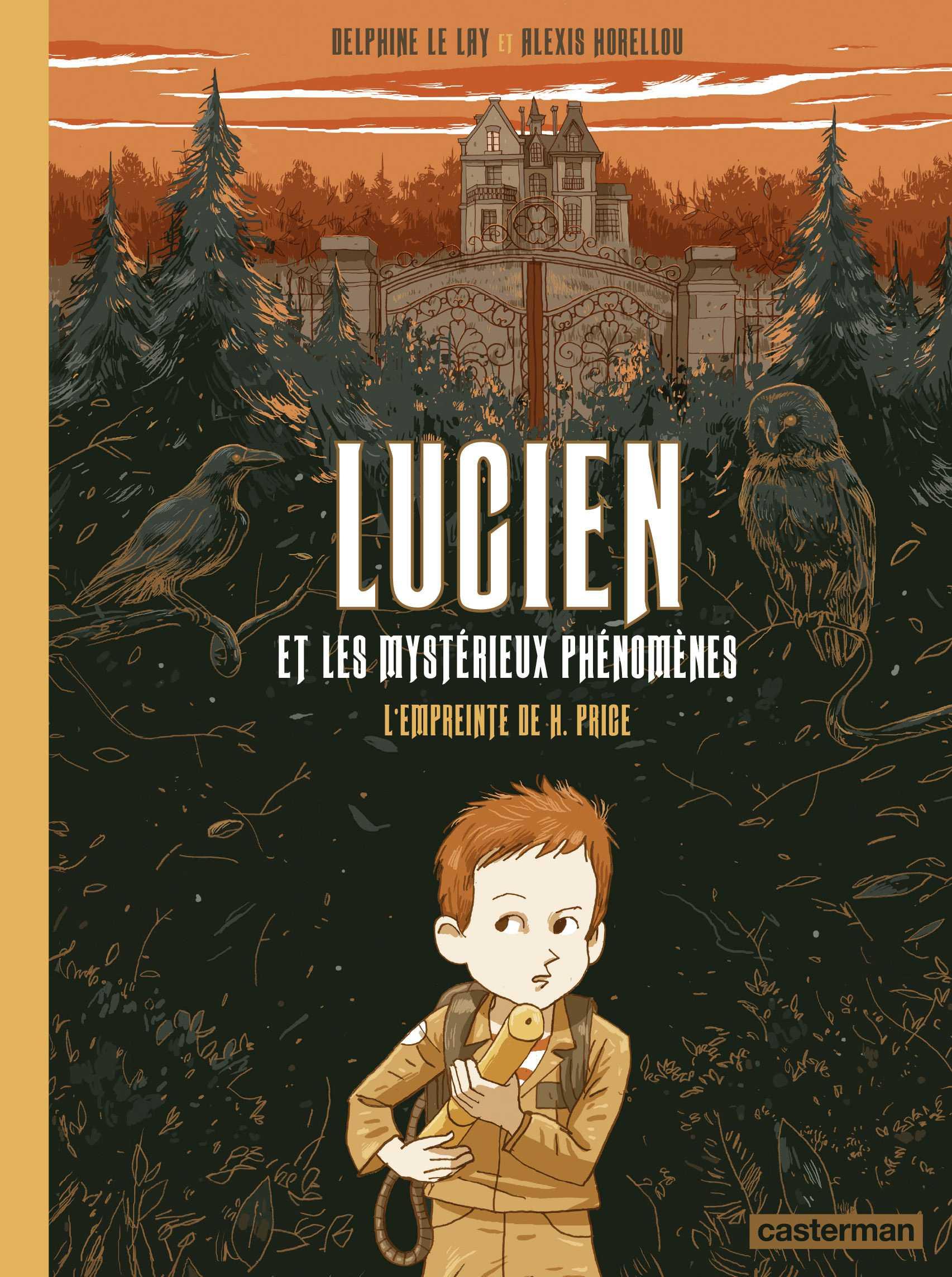 Lucien et les mystérieux phénomènes, un jardin extraordinaire