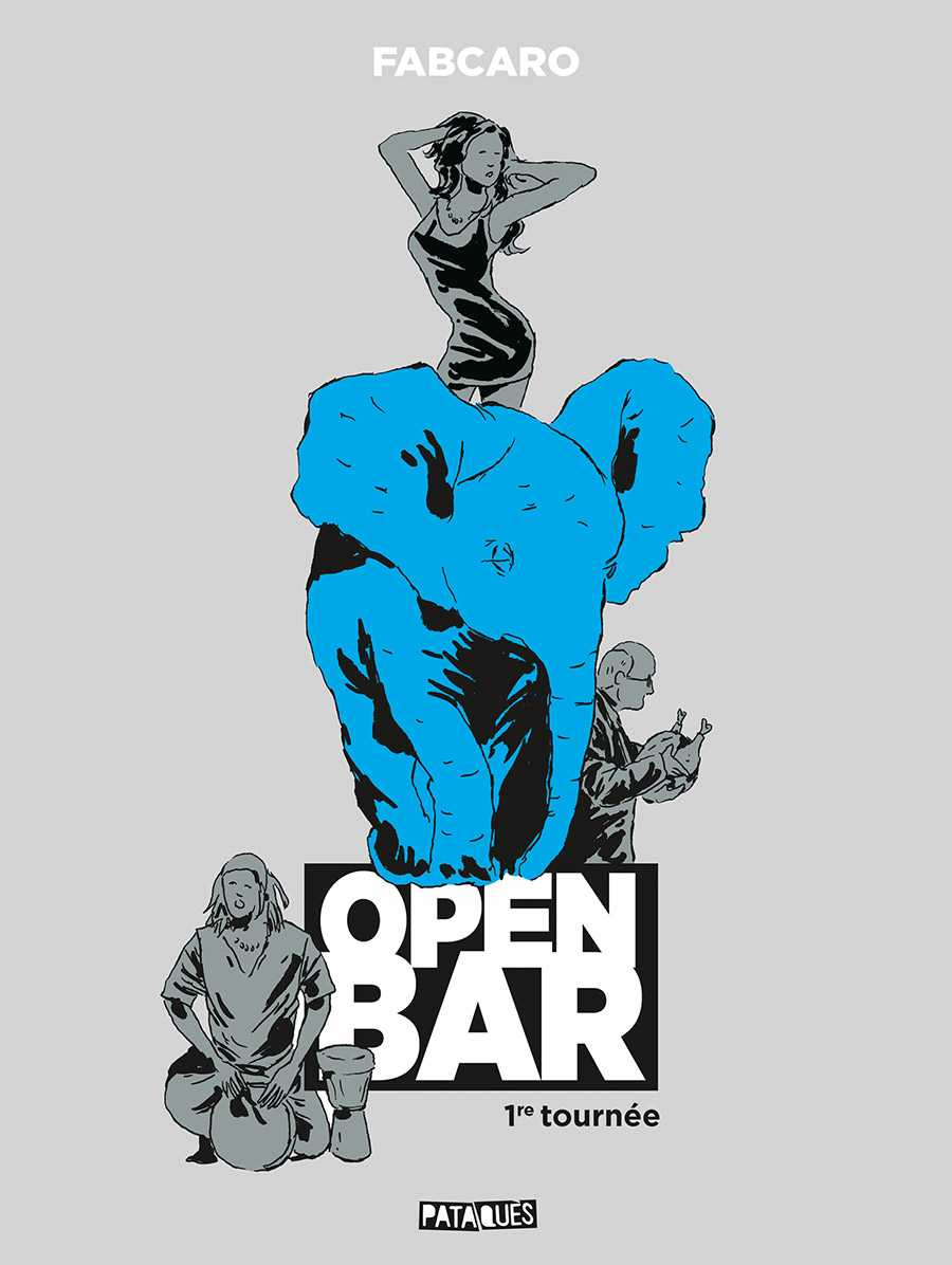 Open Bar, des cases et des mots avec Fabcaro