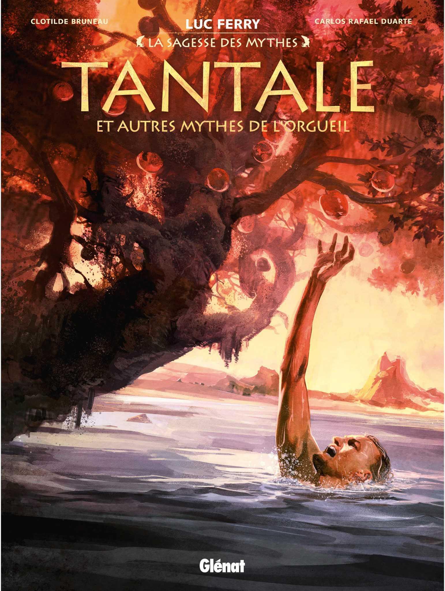Fin du voyage pour Jason et Tantale arrive dans La Sagesse des mythes