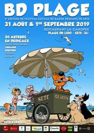BD Plage 2019 à Sète