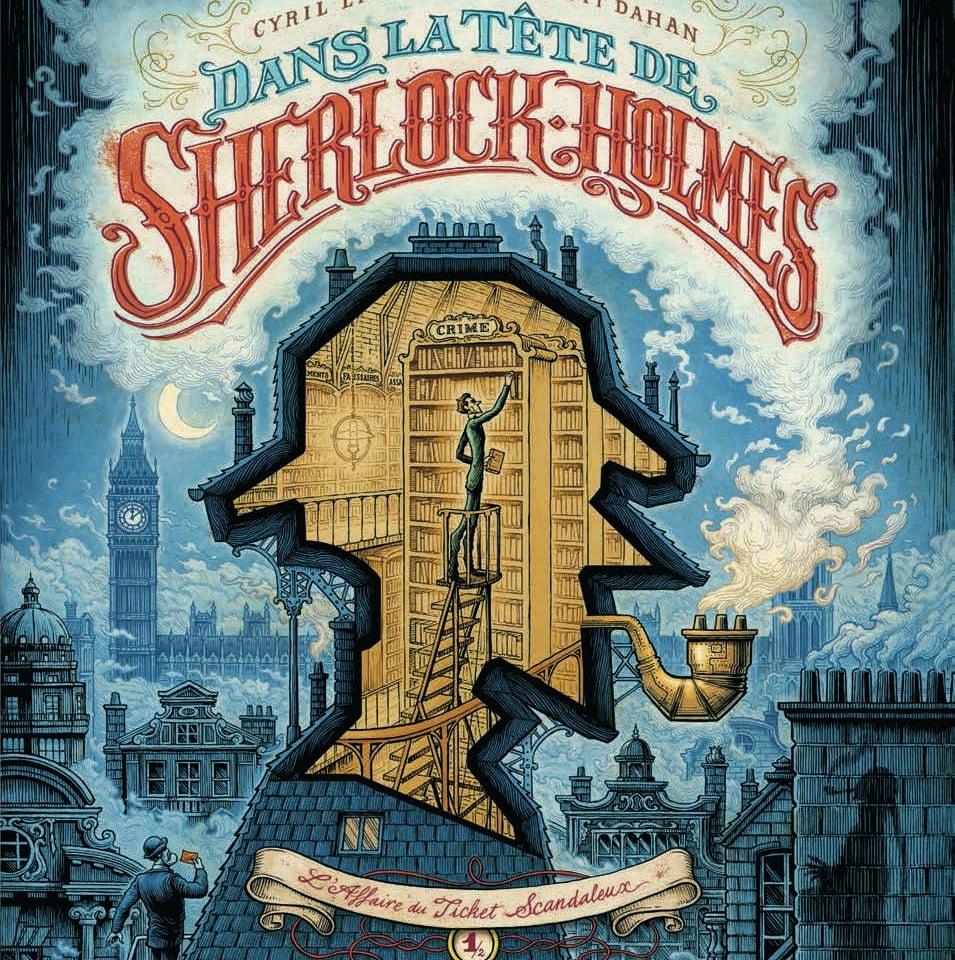 Le Loup et Dans la tête de Sherlock Holmes nommés pour le Prix des libraires BD 2019