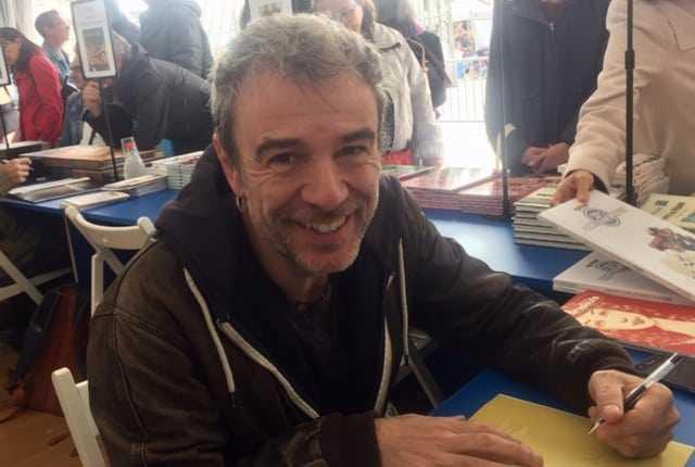 Fabcaro, auteur invité de Toute la France dessine!