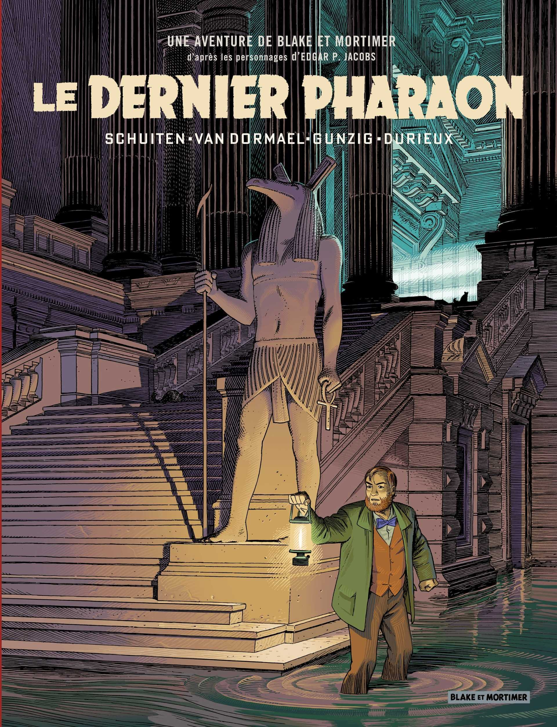 Blake et Mortimer, François Schuiten dévoile son dernier Pharaon