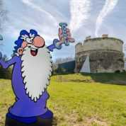 Turk en dédicace au Château de Monthoiron le 2 juin pour le tome 50 des aventures du génial Léonard