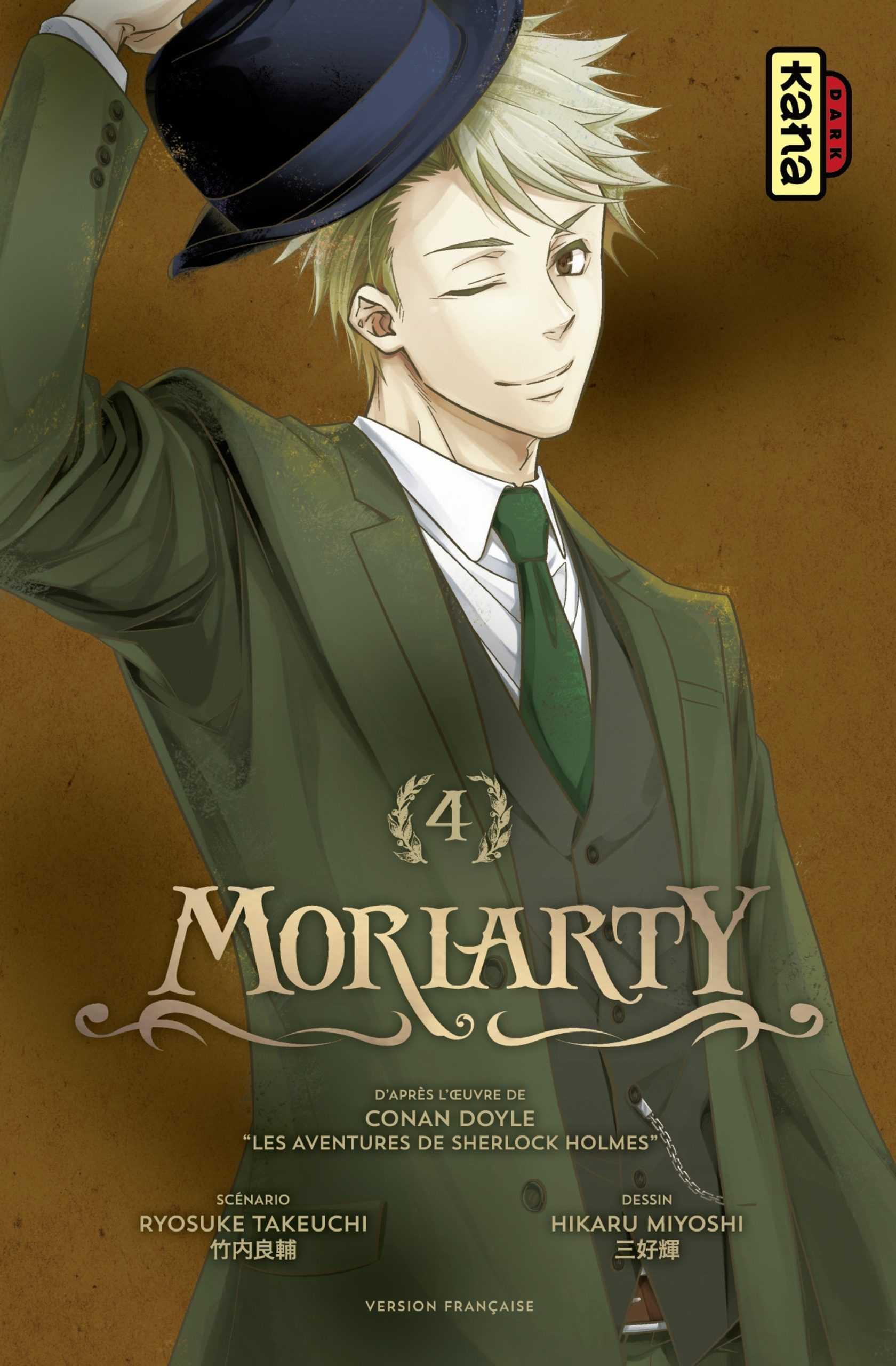 Manga, une sélection avec Moriarty, Apprenti Criminel, Globule, Marry Grave, Drôle de famille