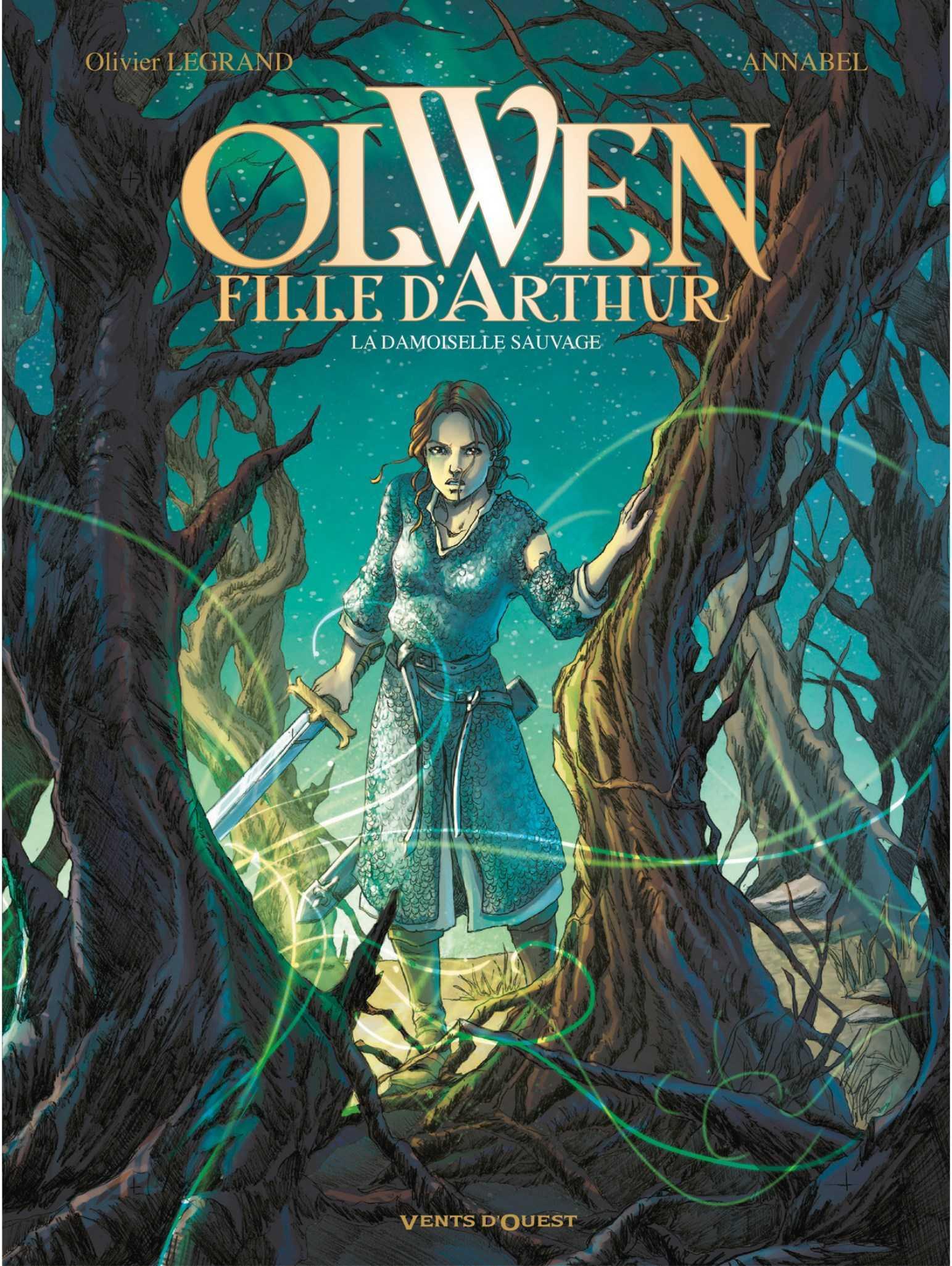 Olwen, fille d'Arthur, panique à Camelot