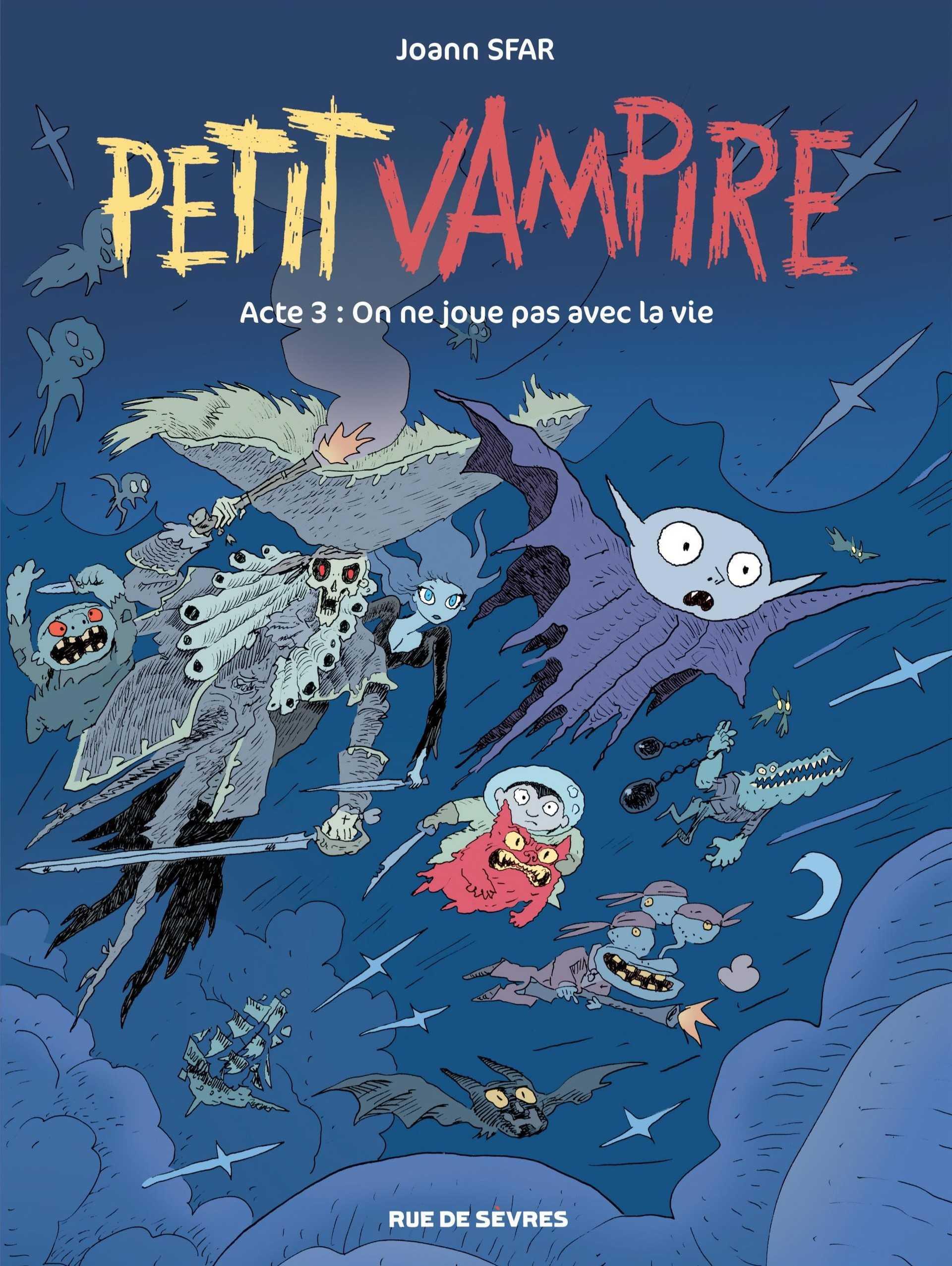 Petit Vampire T3, et bientôt le dessin animé