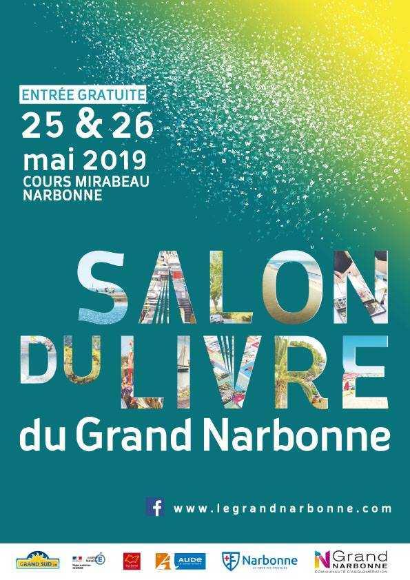 Salon du Livre (et de la BD) du Grand Narbonne, c'est les 25 et 26 mai 2019