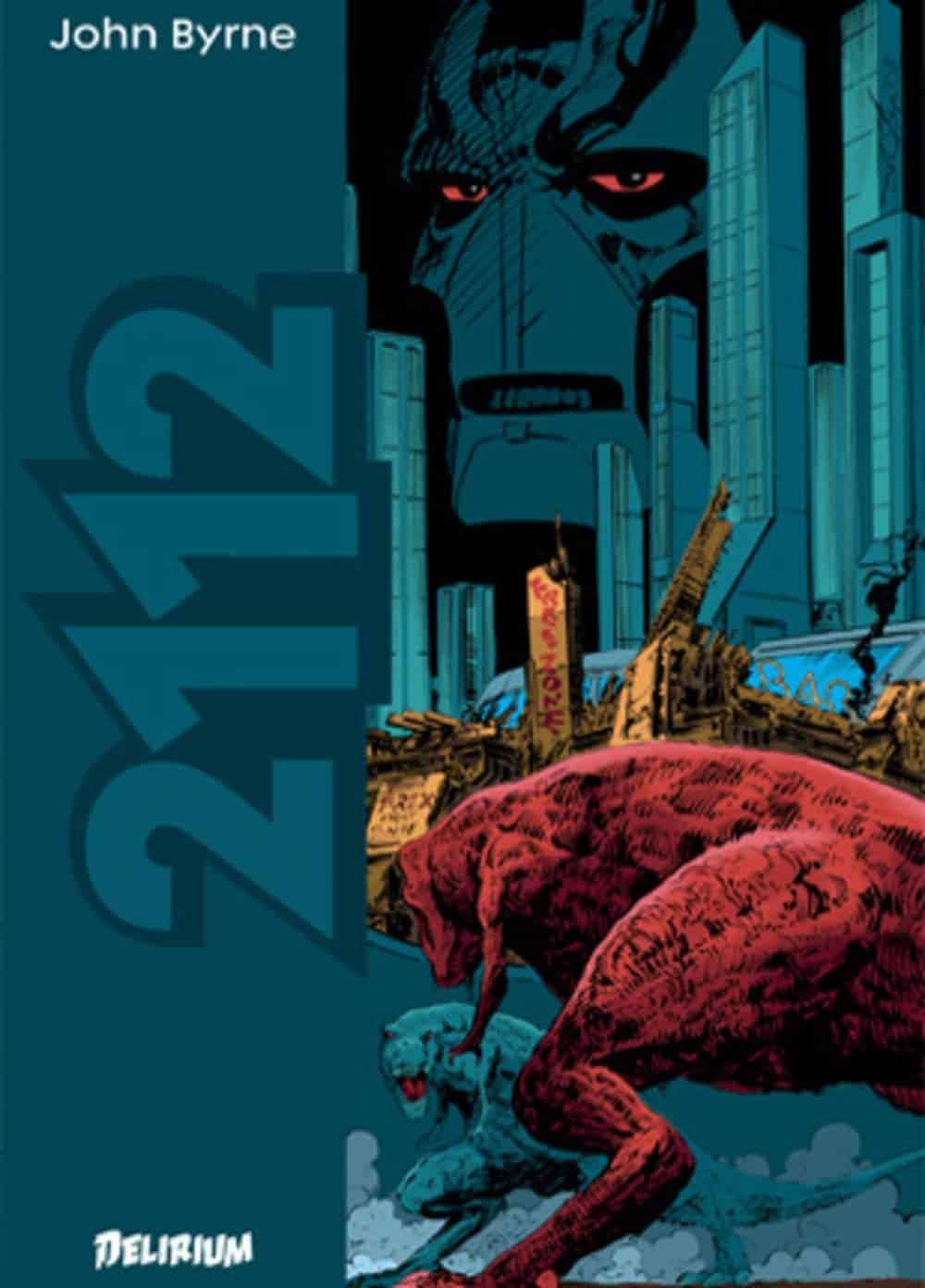 2112, John Byrne lance l'Agent Rouge