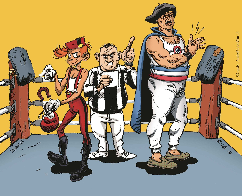 Une exclusivité à Sérignan : Battle de dessin entre Fluide et Spirou le 7 juin