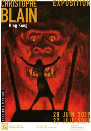 King Kong par Christophe Blain
