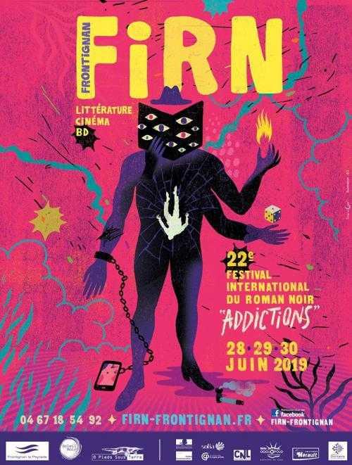 Frontignan se met au noir du 28 au 30 juin 2019 avec le 22e FIRN et l'addiction
